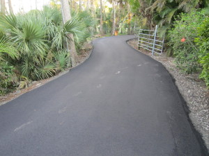 Asphalt road paving Loxahatchee