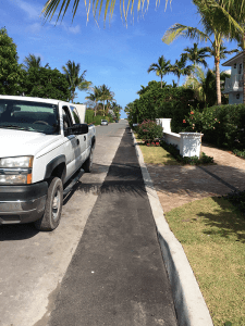 Strip patches for driveway and roadway West Palm Beach