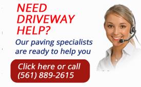 Driveway maintenance customer service