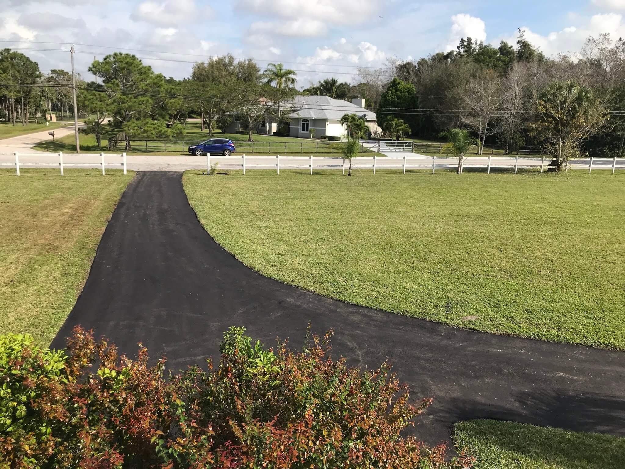 Delray Beach driveway paving