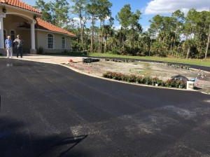 Driveway paving for Palm Beach County